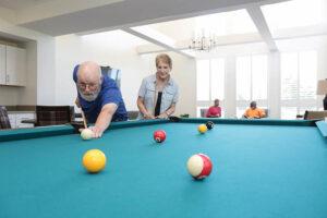 Media/Social Room with Billiard Table
