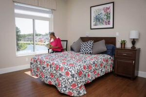 Unit Bedroom with Water View